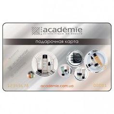Знаете ли вы о подарочных картах Academie? http://www.academie.com.ua/brand/gift-card/  Подарочная карта на покупку профессиональной косметики - лучший способ сделать полезный нужный подарок. Вы выбираете номинал, а тот, кому Вы хотите сделать сюрприз, сам выбирает товар, который ему нужен.