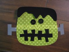 Frankenstein Iron On Applique You Choose Fabric by lkm2006 on Etsy, $3.00