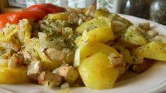 Pečené zemiaky s údeným tofu a cibuľou - obrázok 2 Potato Salad, Potatoes, Vegetarian, Vegan, Ethnic Recipes, Food, Tofu Soup, Tofu Recipes, Vegetarian Bolognese