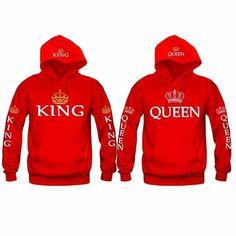 58926bff984 Queen   King Light Hoodies