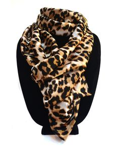 The Classic Leopard Scarf. Always in style.