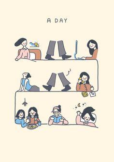 Wallpaper Doodle, Korea Wallpaper, Kawaii Wallpaper, Wallpaper Iphone Cute, Character Drawing, Character Design, Kawaii Art, Cute Cartoon Wallpapers, Cute Illustration