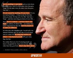 A Haunting But Hopeful Quote From A 2006 Interview With Robin Williams