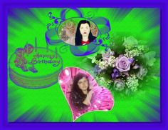 Many happy birthday .Nagyon sok boldog szülinapot