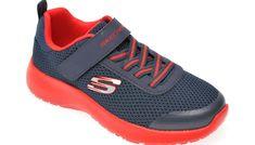 Pantofi sport SKECHERS bleumarin, Dynamight Ultra Torque, din material textil