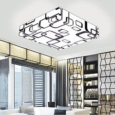 Takplafond LED Moderne / Nutidig Stue / Soverom / Spisestue / Leserom/Kontor PVC 2016 – €144.05
