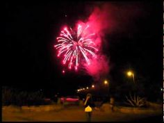 Fireworks for Savior the Central Coast in Avila Beach - 2010