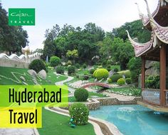 Delve into the green beauty of Ramoji Film City. Book for Hyderabad travel. For more information, visit: http://www.capertravelindia.com/andhra-pradesh/hyderabad.html