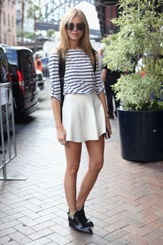 stripes and booties