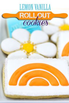 Make easy sugar rollout cookies and decorate them with royal icing with this recipe.