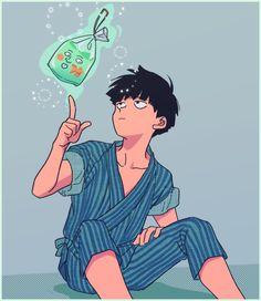 Manga Anime, Fanarts Anime, Anime Guys, Anime Art, Aesthetic Art, Aesthetic Anime, Bunka Pop, Poster Anime, Mob Psycho 100 Anime