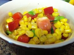 Summery Corn Salad