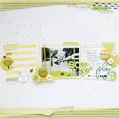 go monochrome! {All That Scrap: Little Mister i-am-the-PARTY!}