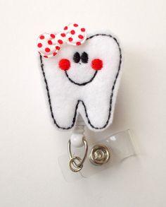 Insignias de tina el diente - titular de la placa de asistente Dental - dentista - ortodoncista divisa - divisa Asistente de ortodoncia - insignia de Higienista Dental