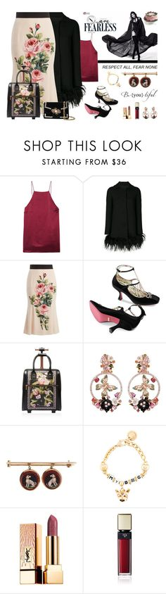 """""""Happy Belated Birthday To The Woman Who Is The Epitome Of All Things Good In PV & In Life (RTD)"""" by sharee64 ❤ liked on Polyvore featuring Cami NYC, Boutique Moschino, Dolce&Gabbana, Gucci, Ted Baker, Anabela Chan, Yves Saint Laurent, Clé de Peau Beauté and Proenza Schouler"""
