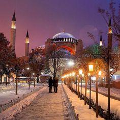 Istambul no inverno
