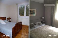 Relooking complet d'une chambre parentale, Design by Agnès Kubasik