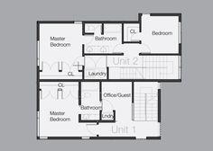 Ballard Aperture House / First Lamp Architecture and Construction Upper Floor