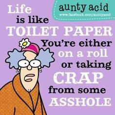 Aunty Acid Cartoon and Fridays Funnies on call centres Auntie Acid Funnies Aunt Acid, Friday Humor, Sarcastic Quotes, Quirky Quotes, Fun Quotes, Twisted Humor, I Laughed, Favorite Quotes, Funny Pictures