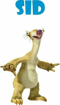 Features ice age continental drift 36 picture, photos, movie stills, photo gallery and more. Character Drawing, Character Illustration, Ice Age Funny, Ice Age Birthday Party, Ice Age Sid, Ice Age Collision Course, Ice Age Movies, Sid The Sloth, Blue Sky Studios