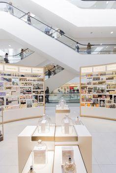 John Lewis Oxford Street Beauty Hall by gpstudio, London   Updated! store design