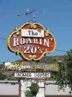 The Roarin' 20's Package Liquor, Rt 66, Grants, NM