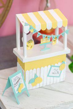 FREE 3D Lemonade Stand – Summer Cut Files - Designs By Miss Mandee