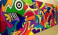 pintura acrilica 50x150. https://www.facebook.com/GoodLifePinturas#
