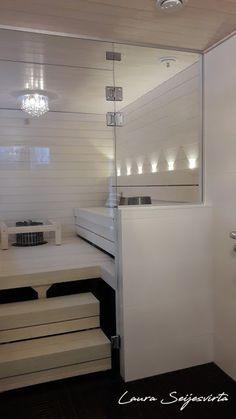 Sauna Shower, Sauna Design, Finnish Sauna, Basement Gym, Spa Rooms, Saunas, Villa, Home Spa, Bathroom Interior