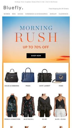 df65ed99f8f0 End-Of-Summer Trends Up To 70% Off - Bluefly Email Archive