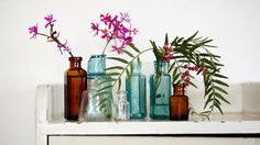 Gallery | No.12 Trading Blue Bottle, Glass Vase, Gallery, Bottles, Colour, Home Decor, Homemade Home Decor, Roof Rack, Color