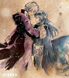 Fire Emblem: Awakening - Lucina and Robin