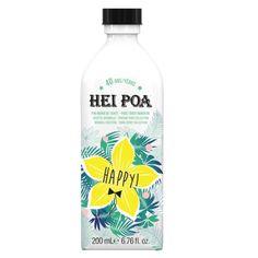 Hei Poa    Είμαστε πραγματικές Hei Poa addicts και λατρεύουμε κάθε τροπικό λάδι της συλλογής. Γιατί όποιο κι αν φορέσεις στο σώμα σου αποκλείεται να μην πάρεις κομπλιμέντα. Φέτος, το Hei Poa κλείνει 40 χρόνια και το γιορτάζει με μια συλλεκτική έκδοση, την Happy! Το μπουκάλι του είναι ό,τι πρέπει για να στολίσεις το μπάνιο ή το boudoir σου ενώ η μυρωδιά του με λουλούδια, φρούτα και βανίλια είναι έτοιμη να τον... στιγματίσει για πάντα, όπως ακριβώς και κάθε Hei Poa.   Τιμή: €19.53