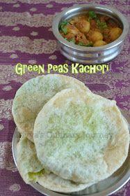 Divya's culinary journey: Green Peas Kachori with Spicy Dum Aloo - Bengali style Easy Baking Recipes, Veg Recipes, Indian Food Recipes, Vegetarian Recipes, Snack Recipes, Cooking Recipes, Snacks, Dessert Recipes, Bangladeshi Food