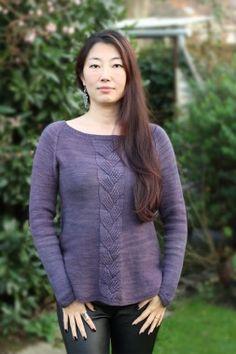 Knit pattern : Velvette – Pullover Xiaowei design