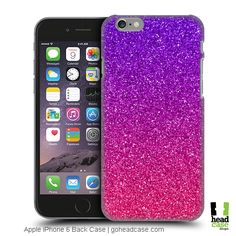 Protect your iPhone with Glittery Ombre effect with Head Case Designs Mobile Back Case! Featuring Ombre Glitter Trend Mix Design for Apple iPhone 6