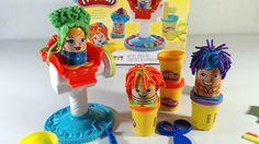 Play doh -  Bộ đồ chơi đất năn tạo mẫu tóc cho búp bê