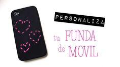 Funda del movil personalizada. Videotutorial de como realizarlo en www.missdiy.es