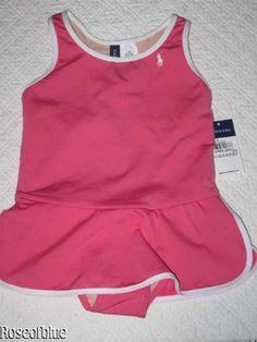Ralph Lauren Swim Suit for Baby Girl Pink 18m « Clothing Impulse