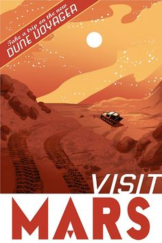 Travel Posters Imagine Our Future in the Solar System | Nerdist