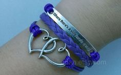 inspirational bracelet  Antique Silver Mutual affinity by Jiadan, $7.99