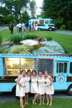 This Cute Food Truck + Wedding = LOVE