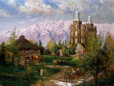 The House of the Lord Giclée Print - Jeremy Winborg Art
