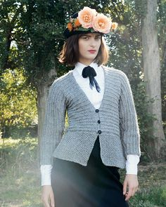 65a8f6b2cb53ae Persephone Cardigan by Purl Alpaca Designs. Knitting kit from £86. Cardigan  Pattern