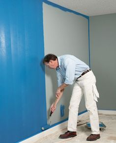 Get tips on how to paint a room fast and still get a quality finish - don't worry, we won't tell your family and friends that you didn't slave over your painting project for days and days.