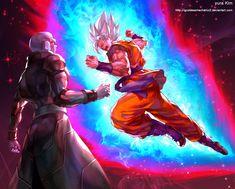 HIT VS GOKU by GoddessMechanic2 on @DeviantArt