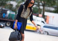 New York Fashion Week Summer/Spring 2014 Street Style (photos) - chic from hair 2 toe
