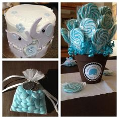 So. Cute! When ever i have a baby, the baby shower will definitely be Elephant themed! Regardless of boy or girl! :)