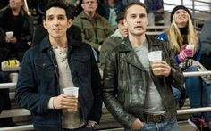 TRUE DETECTIVE episode 11 (season 2, episode 3): Gabriel Luna, Taylor Kitsch. photo: Lacey Terrell