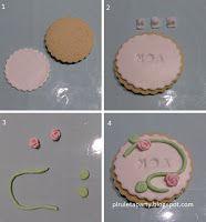 piruletaparty: galleta rosas